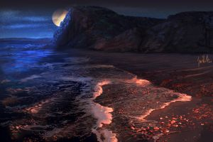 Sculptured Beach by chateaugrief