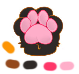 Cecys Paw (Used a Base) by StalkerKittyCecy