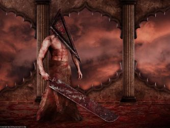 Pyramid Head by Funerium