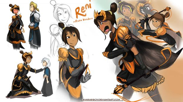 Human Reni- revisited by Kiabugboy