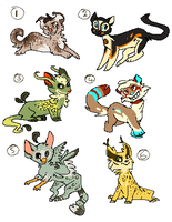more free adopts c: by Redrie
