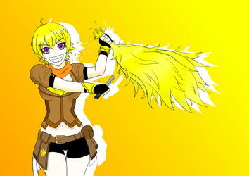 Yang's New Haircut by Necroceph