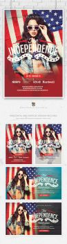 July 4th Independence Day Flyer by EAMejia