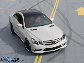 Mercedes E-Class Coupe by Taglane