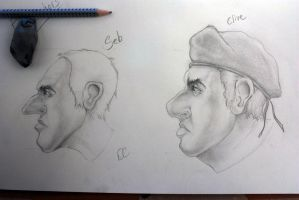 Seb and Clive by SprayCaint123