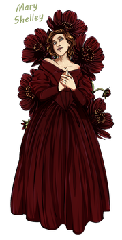 DW Flowers: Mary Shelley by Miss-Alex-Aphey