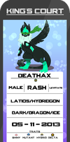 Deathax Reference by NoodleKarp