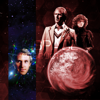 Doctor Who Big Finish Cover Art Mock Up #3 by E-SPACE-Productions