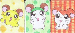 Hamtaro: Cards 1 by AshRob89