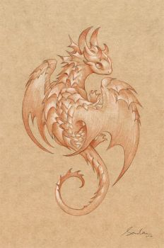 Paper Dragon 1 by sandara
