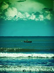 smooth sea by Calisto-Photography