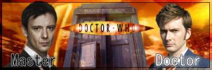 The Doctor and The Master by MoltenTessaract