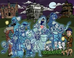 The Haunted Mansion by brodiehbrockie