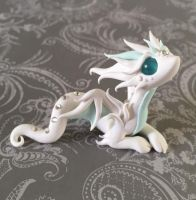 Wispy Ghost Dragon by DragonsAndBeasties