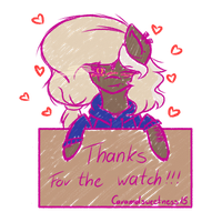 Thanks for the watch!!! by Caramelsweetness15