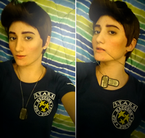 Cosplay RE6 - Piers Nivans 'take a selfie' by Emme-Gray