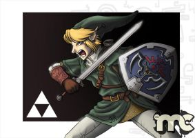 Link is in fury by MCsaad