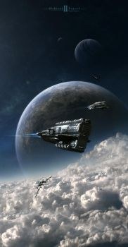 Orbital Patrol 2 by Camille-Besneville