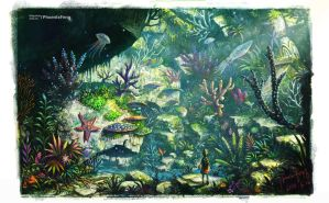 land  coral reef by phoenix-feng