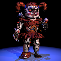 Nightmare Baby - [FNaF SL Blender] by ChuizaProductions