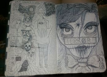 Moleskine Thoughts 5 by axegirl101