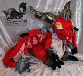 Alexstrasza Whelp Plush - World Of Warcraft by Forge-Your-Fantasy