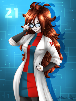 She's The Scientist by artycomicfangirl