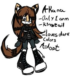{Reference} Akana the Ringtail by In2ufferablePriick