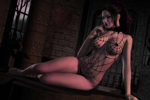 Along came a spider by SPLStudio