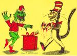 The Grinch vs the Cat in the Hat by XenoTeeth3