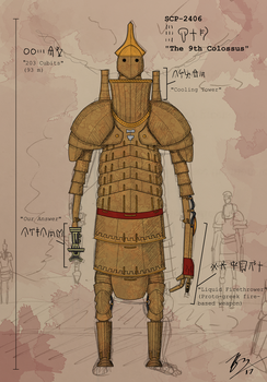 The 9th Colossus, SCP-2406 by BrenZan