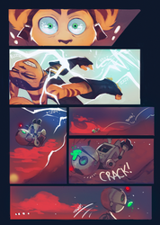 Ratchet and Clank: Back to the Nexus page 18 by ArtofZombiy