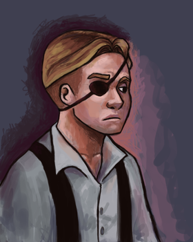 Black-Eye Jim by JesnCin