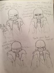 Sans dialogue 1 by Fantacylandgirl