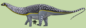 Spotted Apatosaurus by StygimolochSpinifer