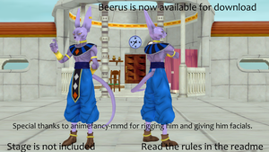 [MMD] Beerus + DL by GJYYNGII