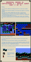 Graphical Design in Castlevania 2 - Part 5 of 10 by Cyangmou