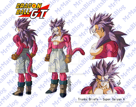 Trunks SSJ4 (Dragon Ball GT) by MrMattsBlog