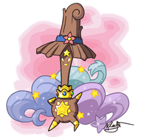 Fakemon: Mega Stafswoop by The-Knick