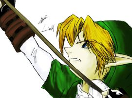 :OoT: Link color practice by Patto-san