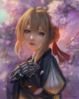 Violet Evergarden by shiori2525