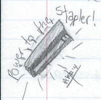 Power to the Stapler! by WindWings15
