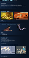 Commission Price Sheet (Newest Version) by Kitchiki