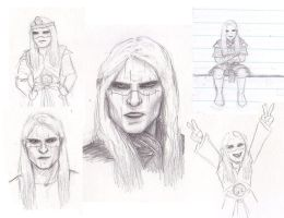 Nuada Sketches by BonnieLime