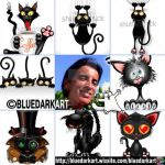 Humorous Cats - artvsartist memes by Bluedarkat