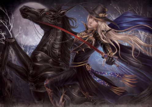 Vampire Hunter D by Yue-Iceseal