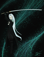 Sephiroth - Lifestream by 11celle