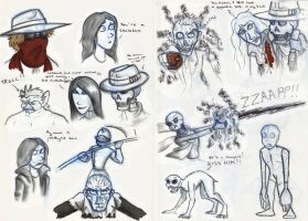 SP Sketches Book 1 by Expression