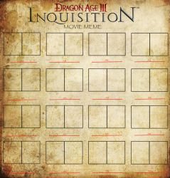 The Dragon Age Inquisition Movie Meme (Blank) by crisurdiales