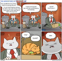 The Adventures of Regular Cat - Idea by tomfonder